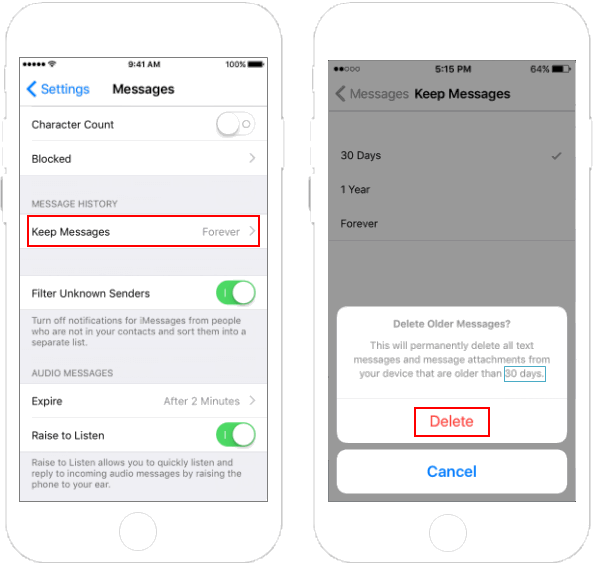3 Ways to Delete Message History and Attachments in iPhone/iPad