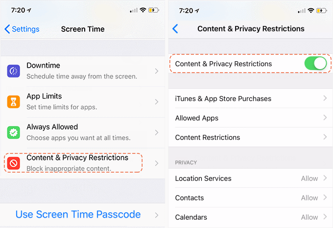 content privacy restrictions - How To Get Rid Of Restrictions On An Iphone