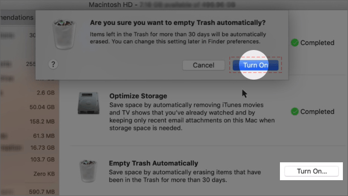 Empty Trash