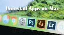 Uninstall apps on Mac