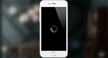 iphone black screen spinning wheel