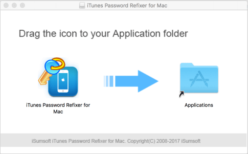 Download and install iTunes password refixer