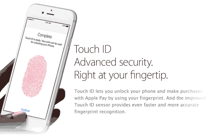Introduce touch id