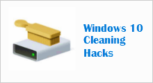 Clean up Windows 10 disk space