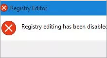 disable access to registry editor