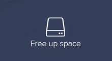free up hard disk space on Windows PC