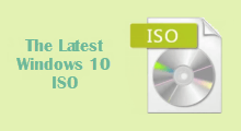 Get The Latest Windows 10 ISO Image