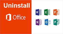 uninstall office 2016 in Windows 10
