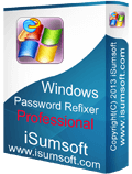 windows password refixer professional