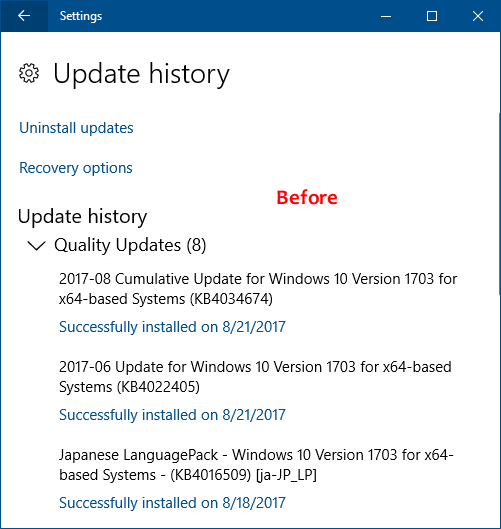 2 Ways to Clear Windows Update History in Windows 10/7