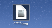 mount .dmg files on macOS