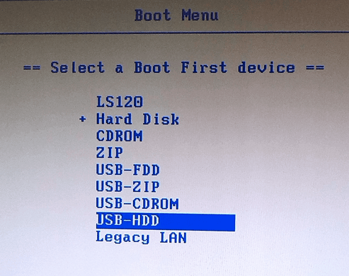 Boot Your Computer from USB Drive