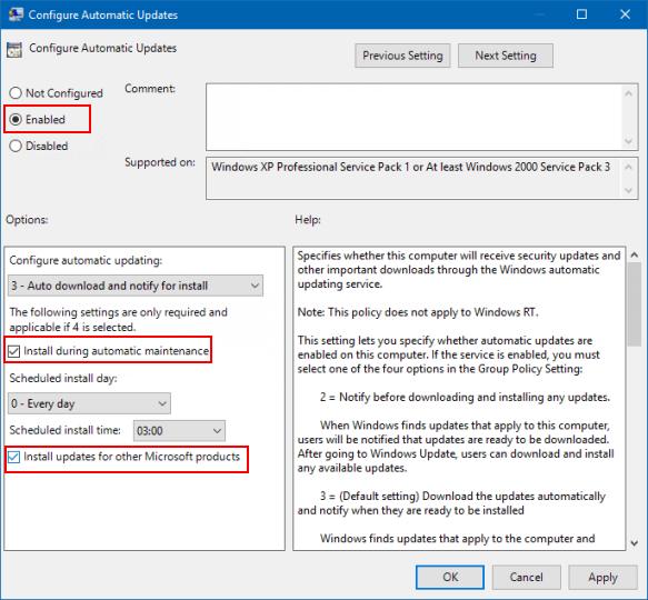 gpedit.msc windows 7 update