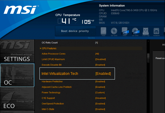 How to Enable Virtualization(Hypervisor) in BIOS or UEFI