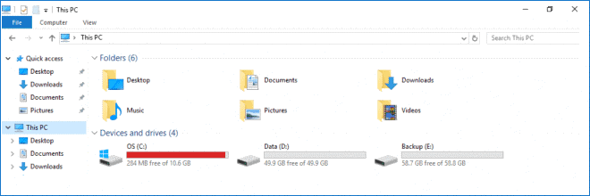 Time to increase system partition size