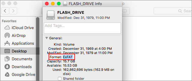 Format a USB Drive as EXFAT for Mac and Windows Compatibility
