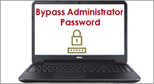 Bypass administrator password on dell inspiron laptop