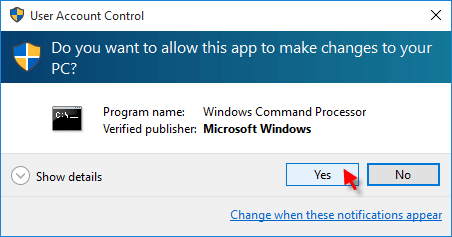 how to close open apps through command prompt