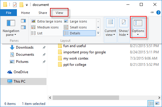 open-folder-from-view-options