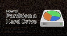 Create new hard disk partition