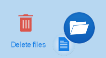 permanently delete files from usb drive