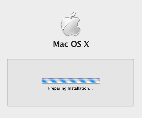 Mac OS installation environment