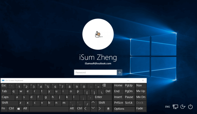 How to Sign in to Windows without Mouse or Keyboard