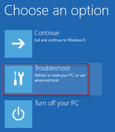 how to reset your laptop windows 8