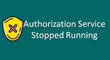 Solve vmware authorization service stop running