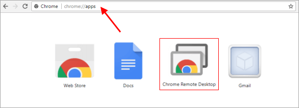 Run Chrome Remote Desktop