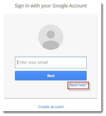 forgot google password new phone number