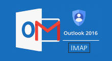setup gmail account via imap