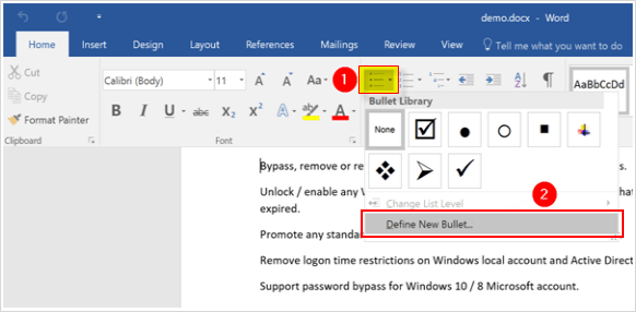 2 Ways to Insert CheckBox in Word Document