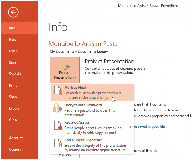 3 Ways to Protect PowerPoint Presentation from Editing and