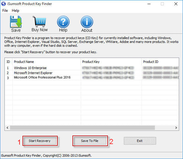 Backup and Restore Office 2013/2016 Activation or Product Key