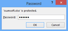Bypass Excel open password