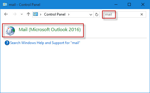 click Mail (Microsoft Outlook 2016)