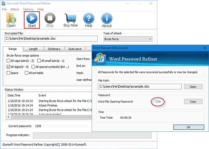 Find encryption password - www.office.com/setup