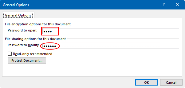 Type encryption password - www.office.com/setup