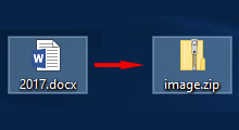 save images embedded in word document
