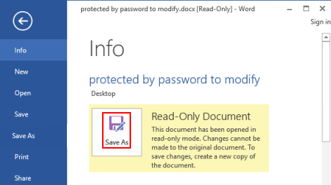 document is locked for editing by me excel