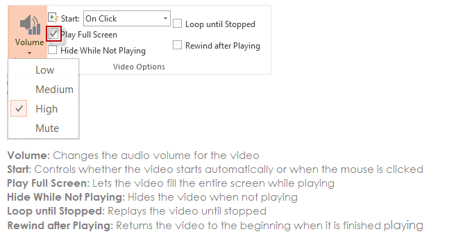 Adjust video how your video play