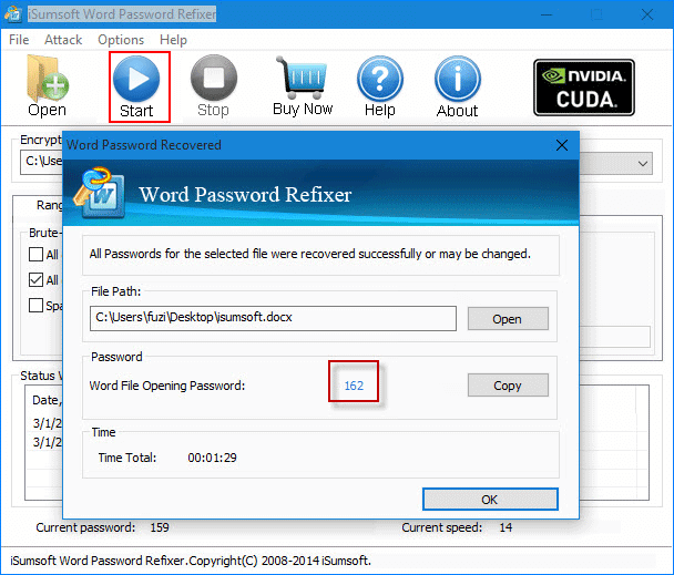 How to open a password protected word document without for Word documents protected