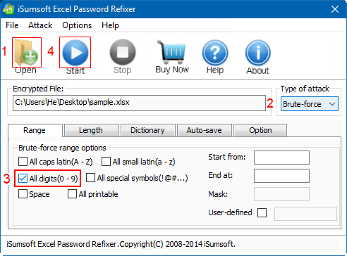How to Open Encrypted Excel Files without Password