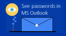 See saved password in MS Outlook