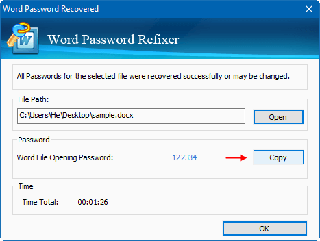 word edit password protected document