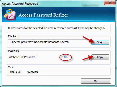 Unlock Access database
