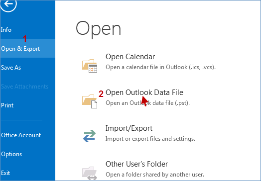 Launch microsoft Outlook app
