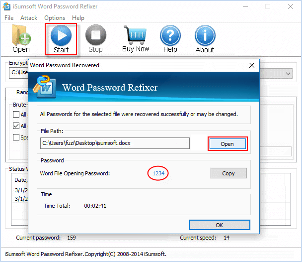 how to add password to word document