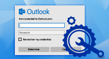 fix outlook continually prompting for password